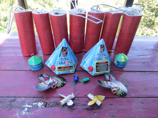 What US$5.70 buys in fireworks in Suchitoto
