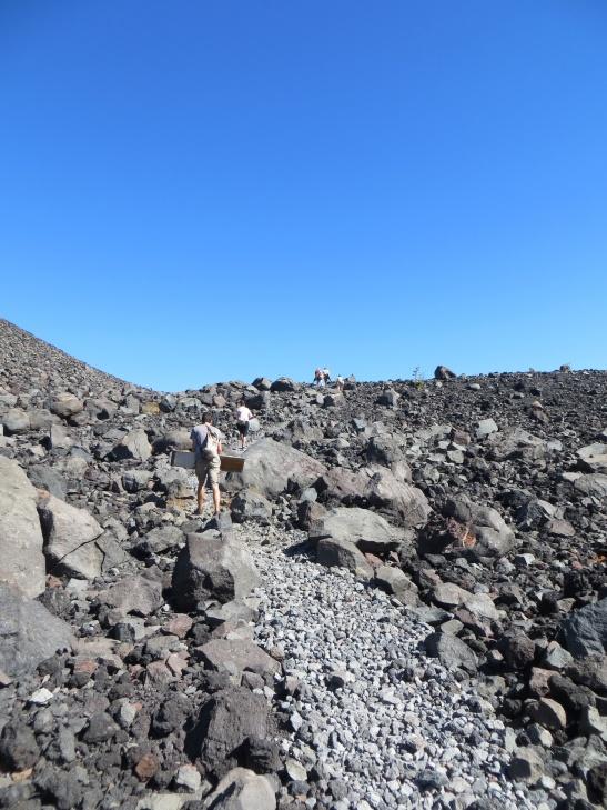 Cerro Negro Volcano - The trail up