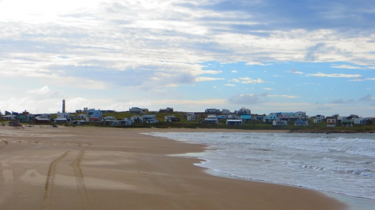 Cabo Polonio - View of the many holiday houses