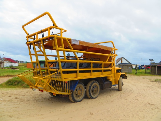 Cabo Polonio - The typical access transport (170pesos for the return trip)