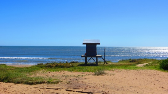 Punta del Diablo - Lots of great beach area